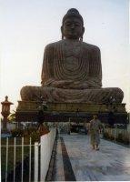 Батхая, статуя Будды