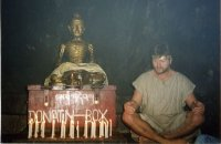 Индия, медитация с Буддой