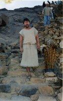 Спуск с Горы Моисея в январе