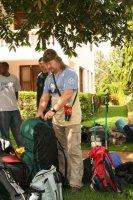 Перед восхождением на Килиманджаро