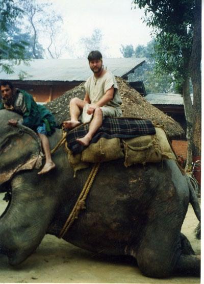 По Непалу на слоне