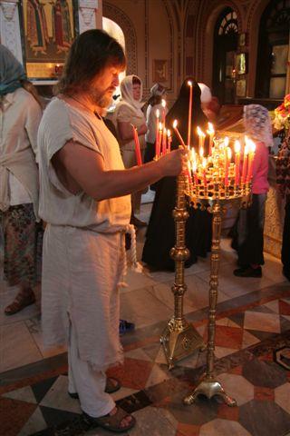 Израиль, в храме