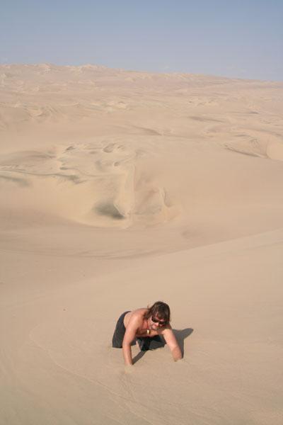 Перу, зыбучие пески